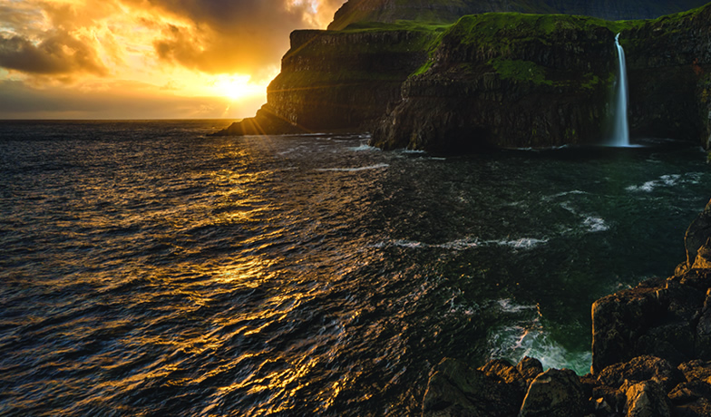 ambiente naturale del salmone affumicato Upstream