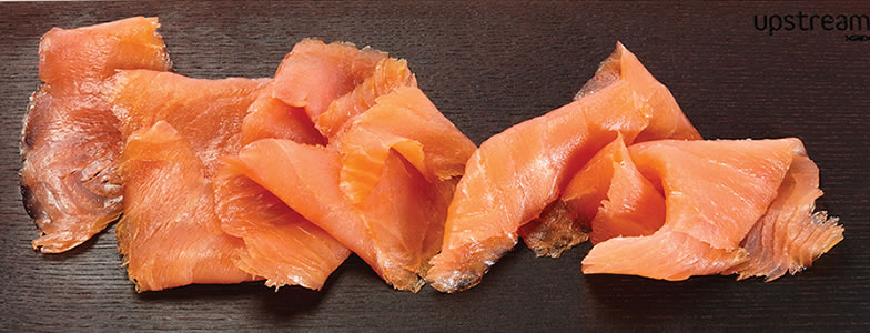 Salmon millefoglie